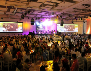 Concert at the convention center's main hall