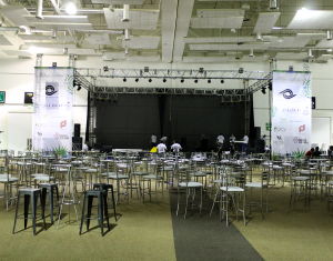 Event's setting and coordination.